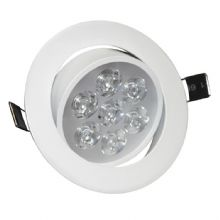7W Angle Adjustment Recessed Spotlight LED Ceiling Downlight